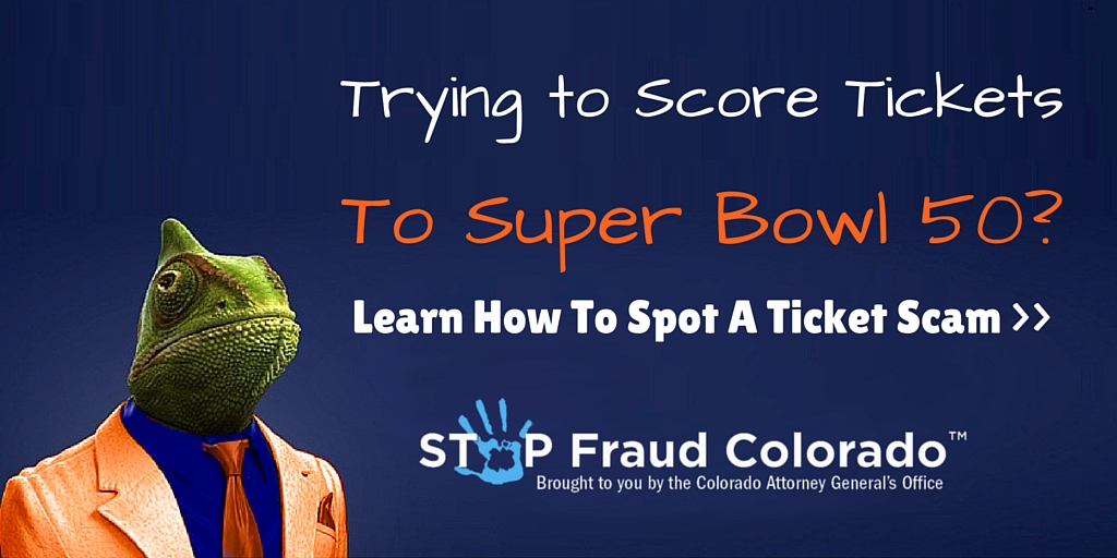 Trying to Score Super Bowl 50 Tickets? Learn to Spot a Ticket Scam